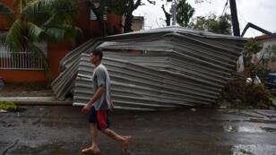 الدمار الذي خلفه إعصار ماريا في بورتوريكو