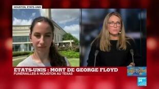 2020-06-09 18:09 Funérailles de George Floyd : de nombreuses personnalités invitées