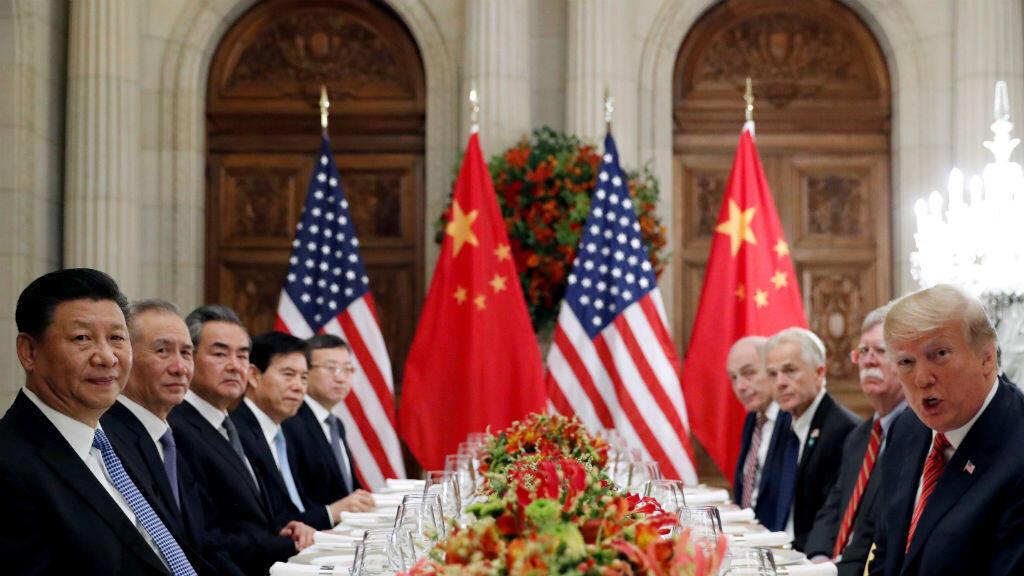 El presidente chino, Xi Jinping, y su homólogo estadounidense, Donald Trump, acordaron una tregua comercial durante su encuentro en el marco del G20 en Buenos Aires, el 1 de diciembre de 2018.
