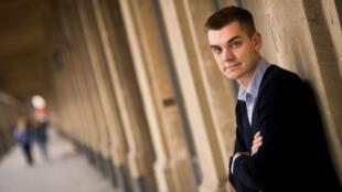 Markus Villig, le jeune PDG de 23 ans de Taxify qui s'attaque au marché parisien des VTC.