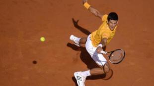 لاعب كرة المضرب الصربي نوفاك ديوكوفيتش