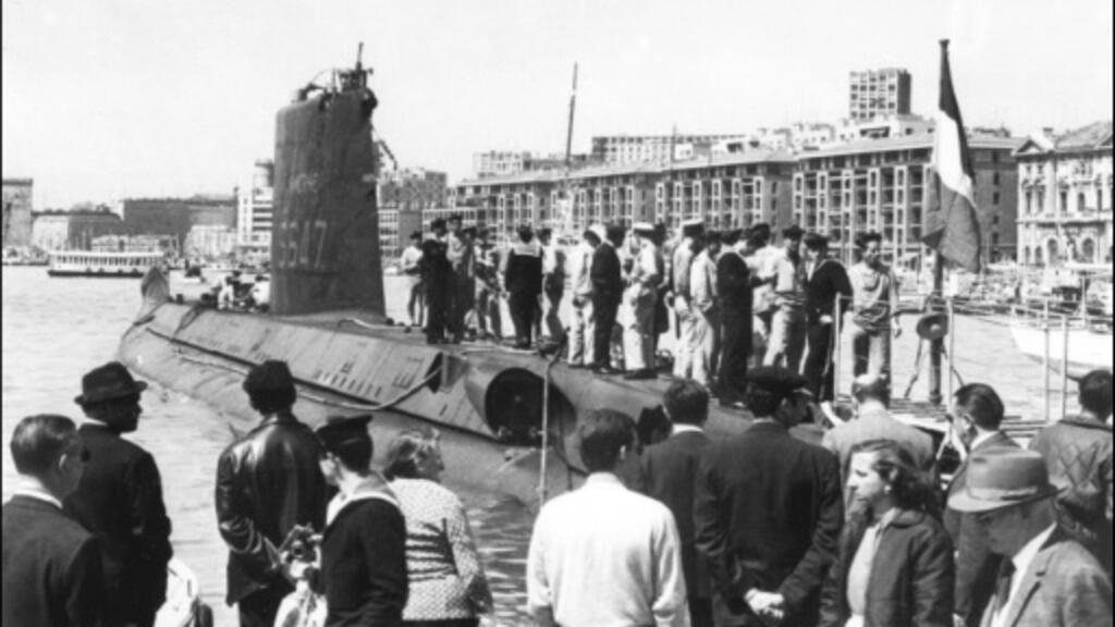 French submarine lost in 1968 located in Mediterranean