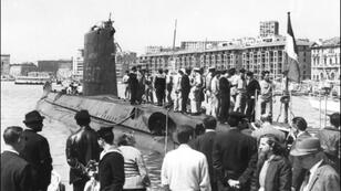 The Minerve submarine was lost off France's southern coast with 52 sailors on board on January 17, 1968