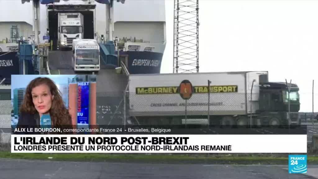 2021-10-13 08:02 Irlande du Nord : Londres présente un protocole post Brexit remanié