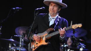 "Bob Dylan, ici en juillet 2012 en France, a sorti son premier album original depuis huit ans, ""Rough and Rowdy Ways"""