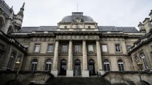 صورة التقطت لمحكمة باريس في 2015.