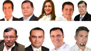 eleccioneshonduras.com/ Los nueve candidatos a la presidencia de Honduras