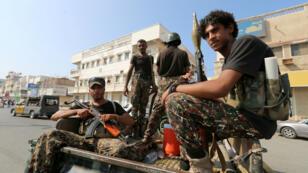 مقاتلون حوثيون بمحافظة الحديدة اليمنية 10 ديسمبر/ كانون الأول 2018