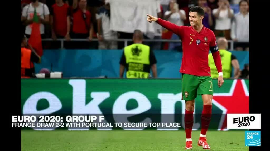 2021-06-23 23:46 Euro 2021: France draw 2-2 with Portugal to secure top place