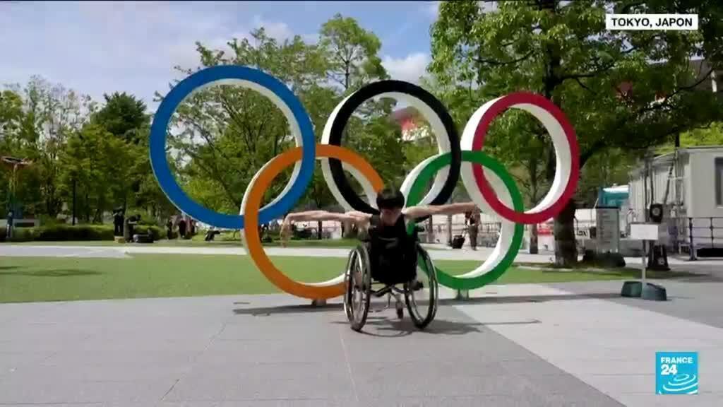2021-08-24 10:42 Jeux Paralympiques de Tokyo :  l'athlète Kenta Kambara défie l'apesanteur en dansant