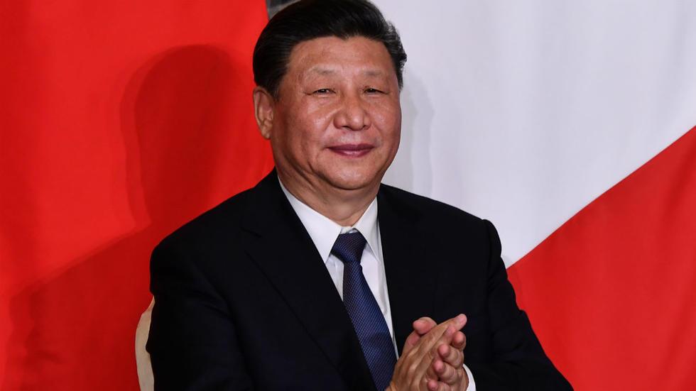 الرئيس الصيني شي جينبينغ أثناء زيارته لروما 23 مارس/آذار 2019