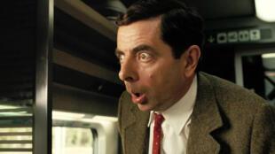 """Rowan Atkinson dans le film """"Les vacances de Mr. Bean""""."""