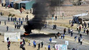 Les affrontements ont été très violents entre les forces de l'ordre et les mineurs boliviens.