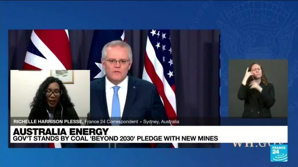 2021-10-05 13:11 Australia energy: Govt stands by coal 'beyond 2030' despite UN call