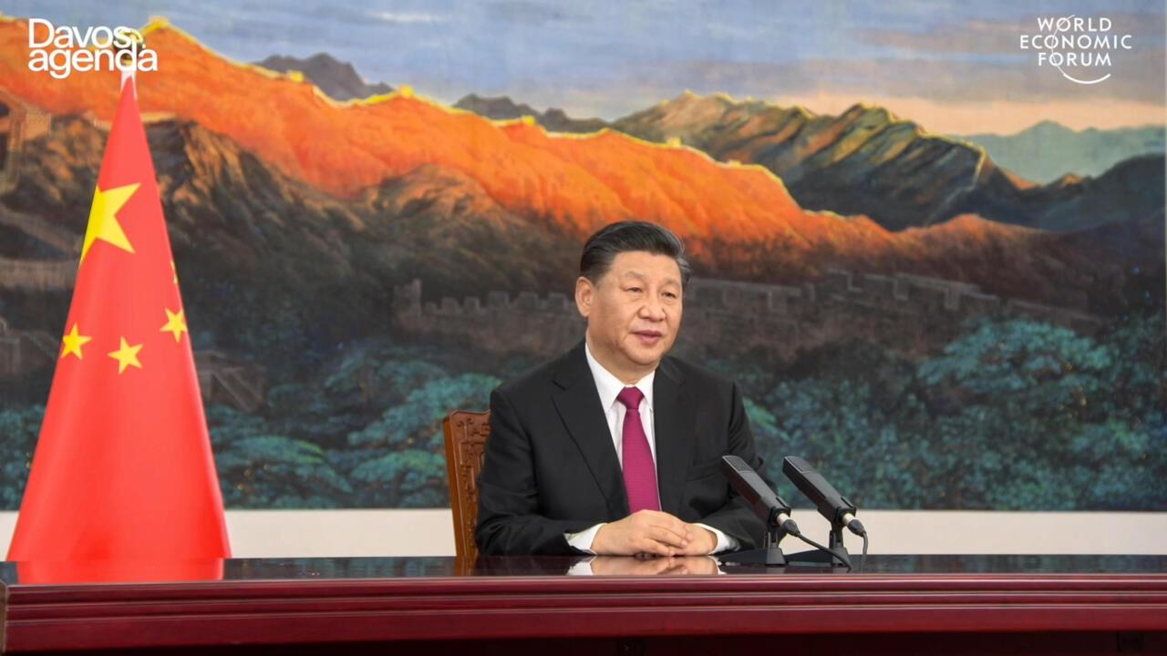"""Forum de Davos : Xi Jinping met en garde contre """"une nouvelle guerre froide"""""""
