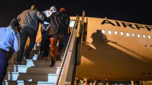 Soulef A. avait été arrêtée avec son mari Peter Cherif et leurs deux enfants à Djibouti le 16 décembre.