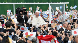 24112019 pope francis in nagasaki
