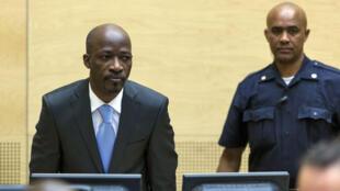 Charles Blé Goudé devant la Cour pénale internationale, le jeudi 27 mars 2014.