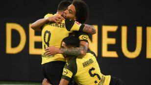Le Borussia Dortmund, plus que jamais leader de la Bundesliga.