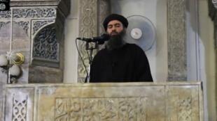 Le dernier enregistrement de Baghdadi a été diffusé par l'EI en septembre 2017.