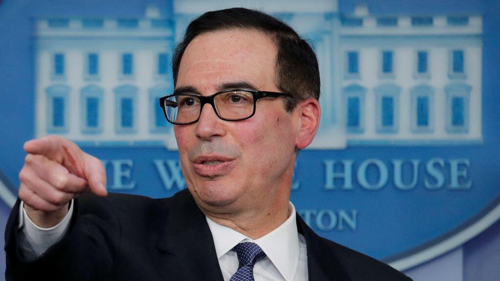 Steve Mnuchin, secretario del Departamento del Tesoro de Estados Unidos, dijo que el caso Huawei es un asunto aparte de la negociación comercial con China.