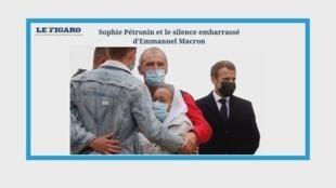L'ex-otage franco-suisse Sophie Petronin accueillie par Emmanuel Macron