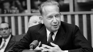 Dag Hammarskjöld, the UN's second secretary-general, was travelling in southern Africa for a mission when his plane crashed.