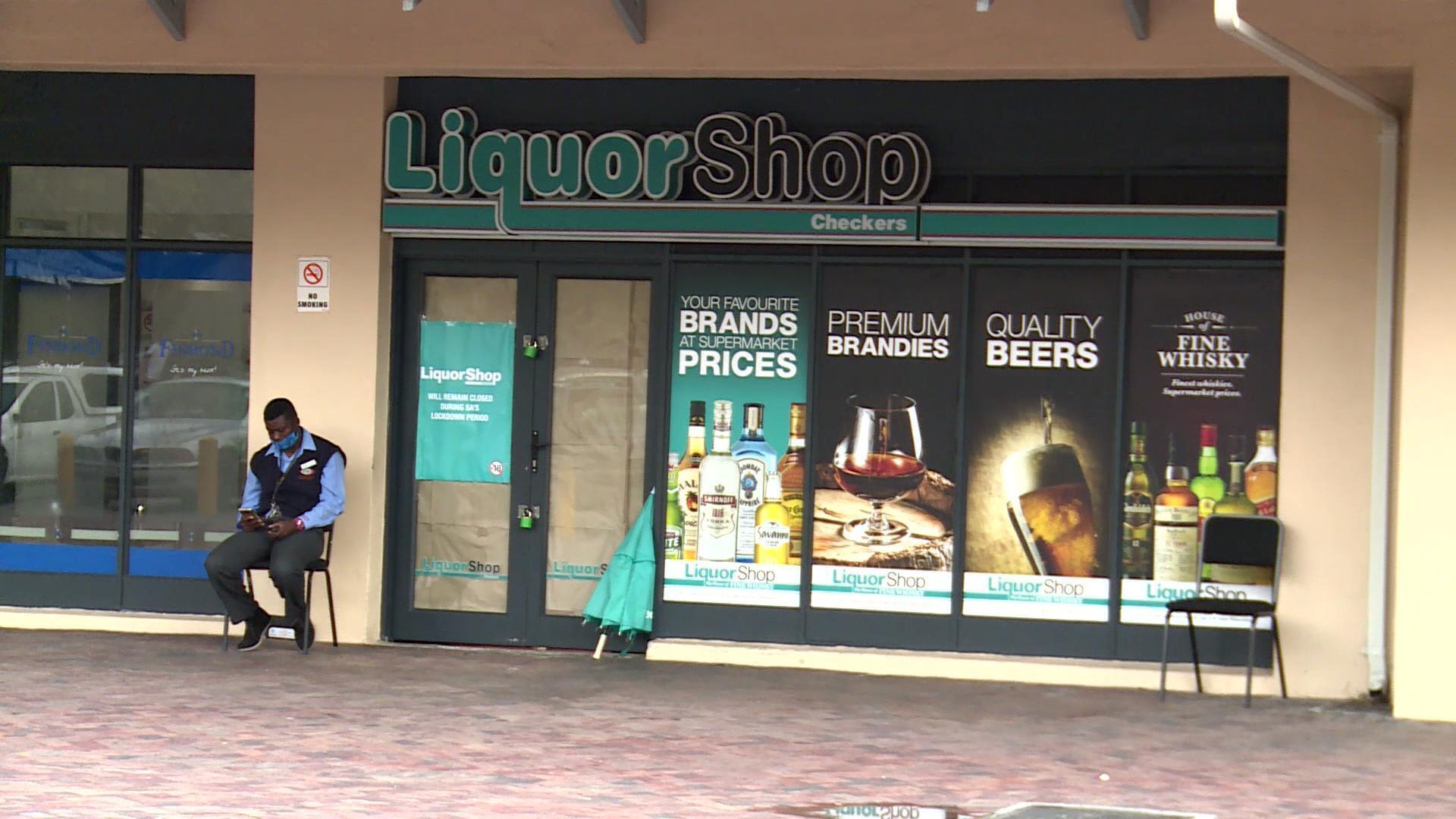 Les magasins d'alcool fermés en Afrique du Sud