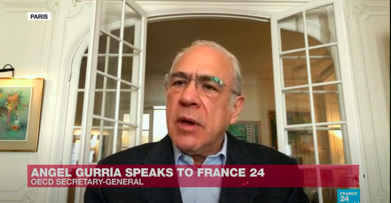 OECD Chief Angel Gurria talks to France 24