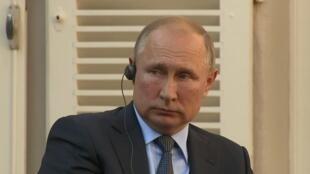 Le président russe Vladimir Poutine, en août 2019.