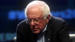 Bernie Sanders, à Philadelphie(Pennsylvanie), le 17septembre2019.