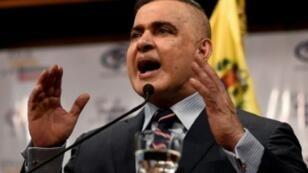 النائب العام الفنزويلي طارق ويليام صعب في 8 آب/اغسطس 2018