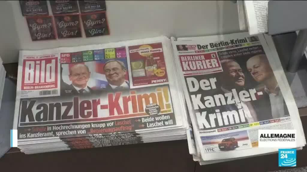 2021-09-27 14:01 Législatives en Allemagne : le grand retour du centre-gauche dans le pays