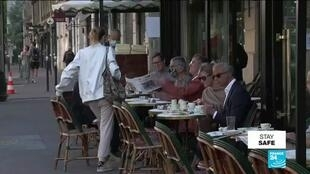 2020-06-02 17:03 France savours return of iconic cafés, restaurants as Covid-19 lockdown eases
