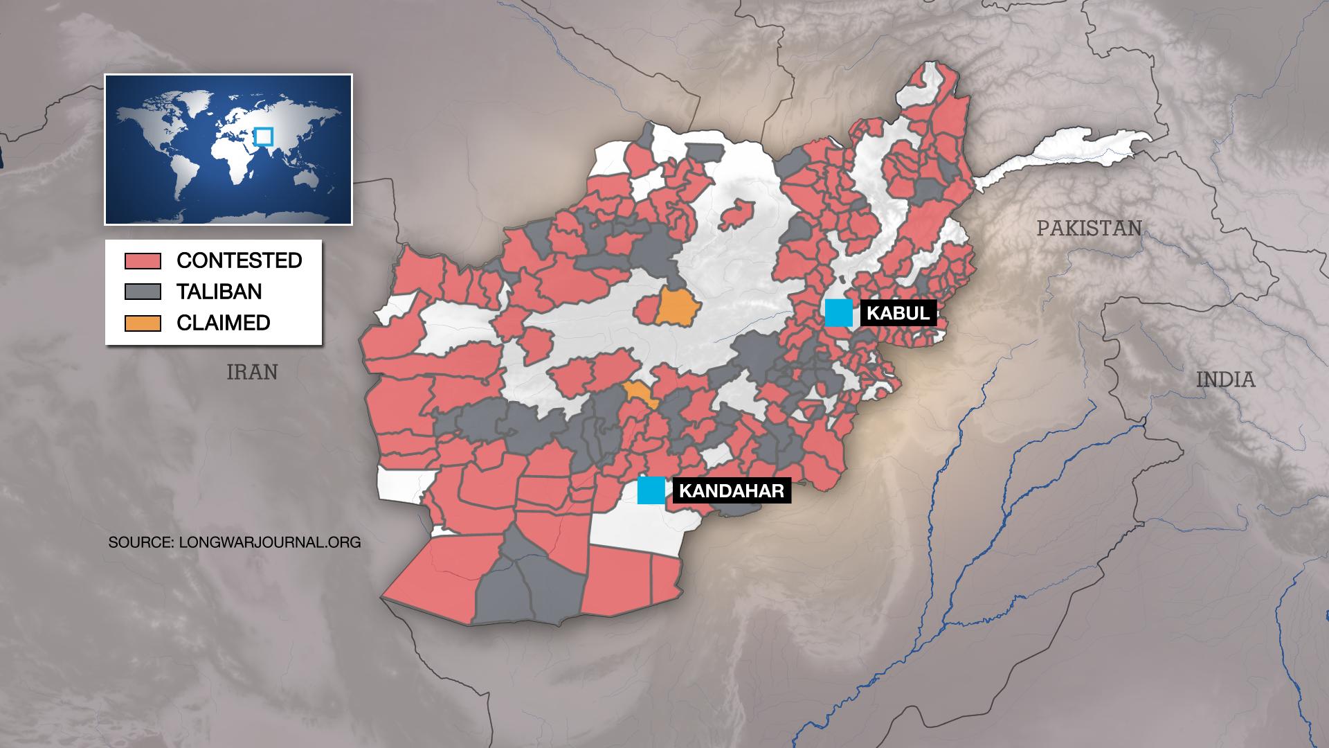 Taliban territory