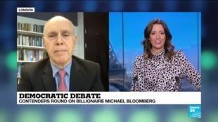 2020-02-20 13:36 Peter Trubowitz on France 24: Elisabeth Warren was the most effective candidate in Las Vegas debate