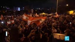 2019-10-30 11:31 Lebanon: Protesters demand 'more' despite Hariri's resignation
