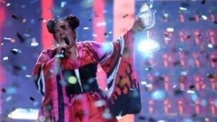 المغنية الإسرائيلية نيتا بارزيلاي 12 مايو/ أيار 2018