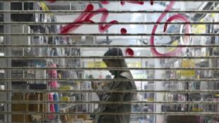 Hong kong shop girl economy