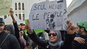 Social media has helped spur Algerian protests against the president's bid for a fifth term, with the internet allowing youth to see what is happening in other countries
