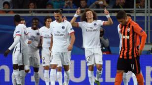 Le Paris Saint-Germain a étrillé le Chakhtior Donetsk à l'Arena Stadium de Lviv (0-3).