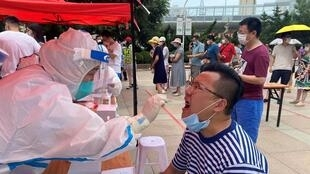 China is conducting mass testing in the northeast port city of Dalian after a fresh cluster of cases