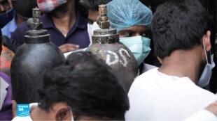 ريبورتاج الهند كورونا