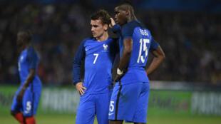 الجماهير الفرنسية تنتظر من بوغبا وغريزمان الكثير بنهائيات كأس الأمم الأوروبية