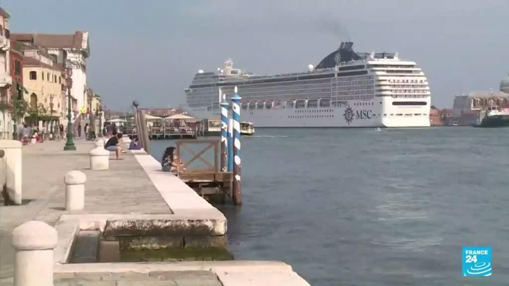 2021-07-14 14:38 Desde el 1 de agosto, los grandes cruceros tendrán prohibido el paso por la laguna de Venecia