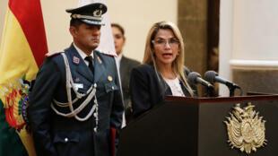 Jeanine-Añez-descarta-parti-evo-elex-Reuters