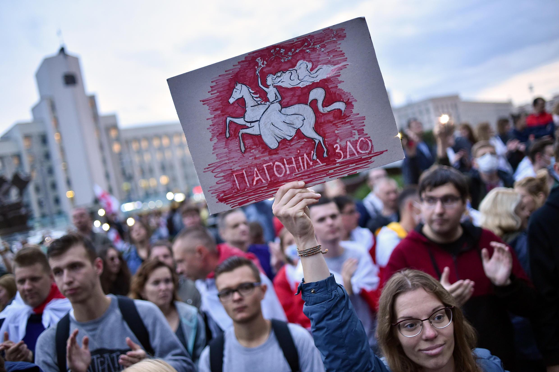 Belarús ha vivido protestas masivas desde las elecciones del 9 de agosto.