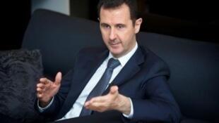 الرئيس السوري بشار الأسد