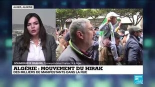 2021-02-26 17:09 Mouvement du Hirak : le retour des marches en Algérie