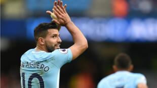 Kun Aguero a inscrit samedi son 177e but avec Manchester City, égalant le record du club détenu par Eric Brook.